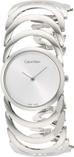 Calvin Klein – Reloj de Pulsera analógico para Mujer Cuarzo Acero Inoxidable k4g23126