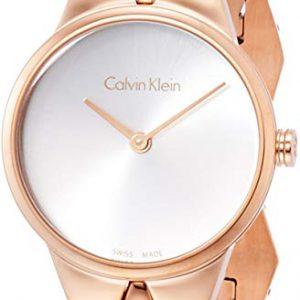 Calvin Klein Reloj Analogico para Mujer de Cuarzo con Correa en Acero Inoxidable K6E23646