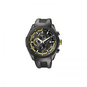Citizen CA0125-07E - Reloj para 1Hombres, Correa de Goma Color Negro