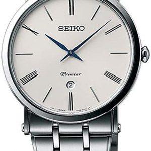 Seiko SKP391P1 - Reloj de Cuarzo para Hombre con Esfera analógica de Color Negro