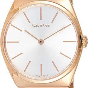 Calvin Klein Reloj Analógico para Mujer Acero Inoxidable K6C2X646