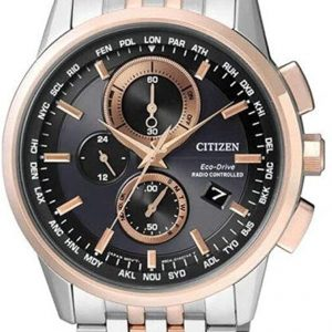 Reloj CITIZEN Eco-Drive correa de acero RADIO CONTROLLED AT8116-65E
