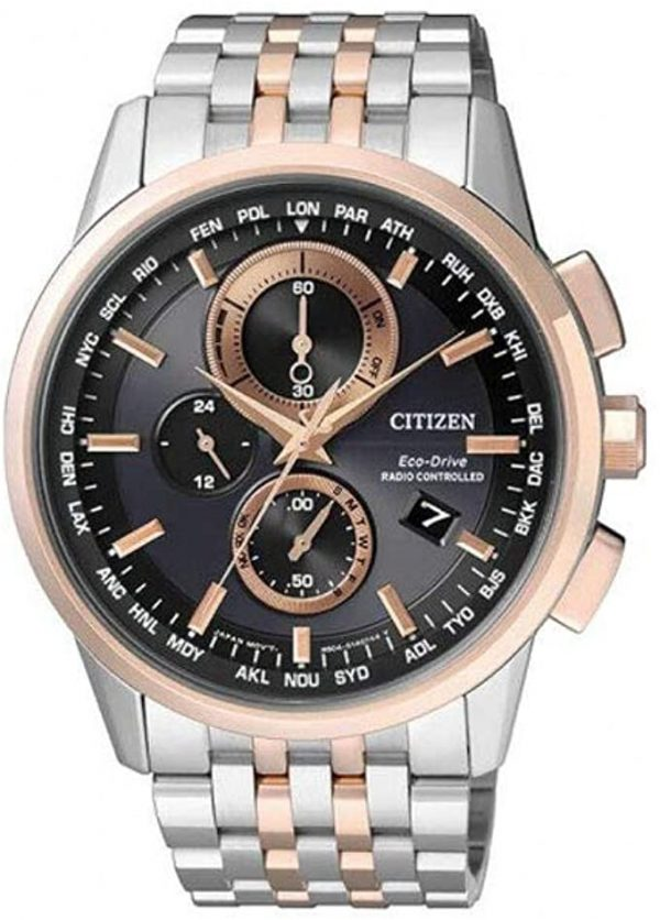Reloj CITIZEN Eco-Drive correa de acero RADIO CONTROLLED AT8116-65E