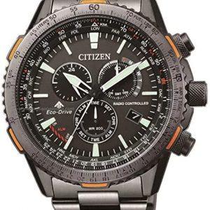 Reloj CITIZEN Radiocontrolado Crono Pilot Acero CB5007-51H