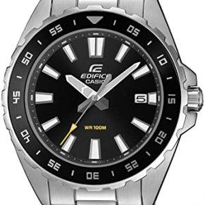 Reloj Casio Analógico Hombre de Cuarzo-Inoxidable EFV-130D-1AVUEF