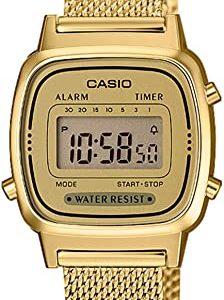 Reloj Casio Digital Mujer Cuarzo Acero Inoxidable Macizo LA670WEMY-9EF