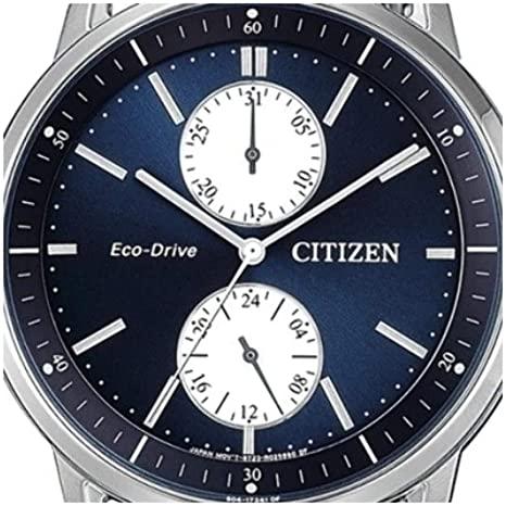 Reloj Citizen Acero Esfera Azul Ecodrive BU3020-82L