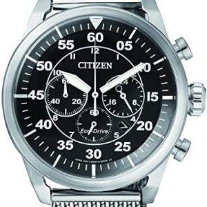 Reloj Citizen Hombre Cronógrafo Cuarzo Acero Inoxidable CA4210 – 59E