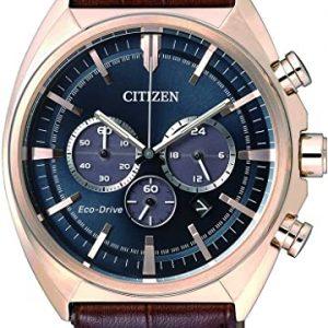 Reloj Citizen Hombre Cronógrafo Cuarzo Piel CA4283 – 04L