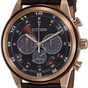 Reloj Citizen Hombre de Cuarzo con Correa en Cuero CA4037-01W