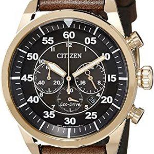 Reloj Citizen de Hombre Cronógrafo Cuarzo Piel CA4213 – 00E