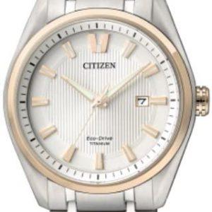 Reloj Unisex CITIZEN SUPER TITANIO 1240 Eco-Drive AW1244-56A