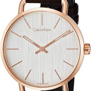 Reloj Calvin Klein Analogico Mujer Cuarzo Cuero K7B216G6