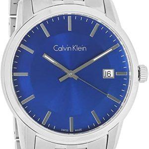 Reloj Calvin Klein AzulPlata Acero Inoxidable Analog Cuarzo Mujer K5S3114N