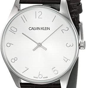 Reloj Calvin Klein Hombre Cuero K4D211G6