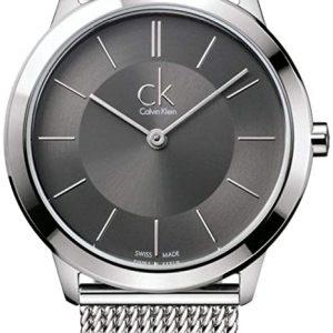 Reloj Calvin Klein Hombres Correa de Plata K3M22124