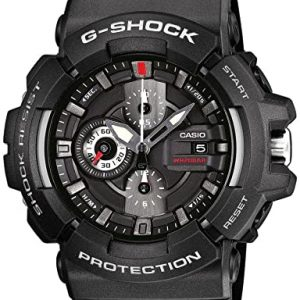 Reloj Casio Masculino Resina Negro GAC-100-1AER