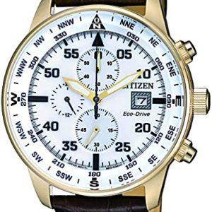 Reloj Citizen Cronógrafo Hombre Cuarzo Correa Cuero CA0693-12A