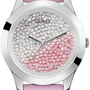 Reloj Guess Crush Analógico Mujer Correa de Silicona W1223L1