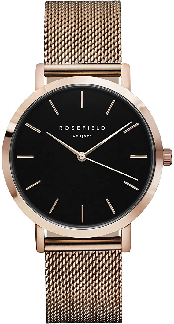 Reloj Rosefield Analógico Cuarzo Correa Metal MBR-M45