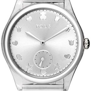 Reloj Tous Free Fresh Acero policarbonato Silicona Blanca 900350075