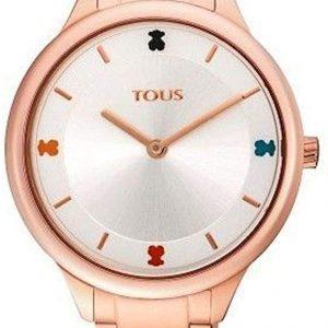 Reloj Tous Tartan de Acero Rosado 900350105