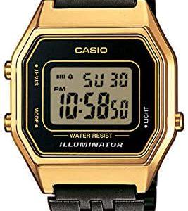 Reloj Casio Digital Mujer Cuarzo Correa Acero Inoxidable LA680WEGB-1AEF