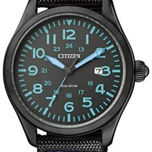 Reloj CITIZEN ECO DRIVE Analógico Correa Tela Color Negro BM6835-07E