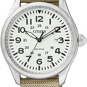 Reloj CITIZEN ECO DRIVE Analógico Cuarzo Correa Nailon Color Beige BM6831-24B
