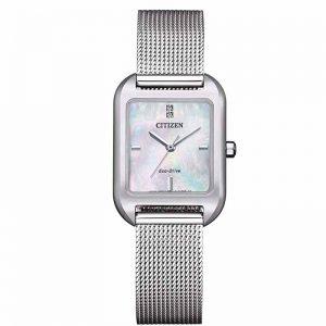 Reloj Citizen Eco Elegance Acero inoxidablenácar EM0491-81D