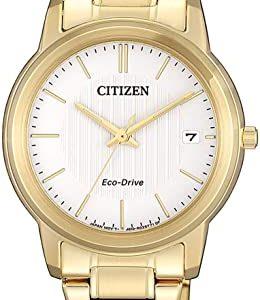 Reloj Citizen EcoAcero Analógico Cuarzo Correa Acero Inoxidable FE6012-89A